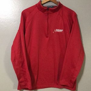 Snap Fitness Large 1/4 Zip Sweater